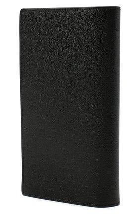 Мужской кожаное портмоне ZILLI темно-синего цвета, арт. MJL-0WL02-18030/0001 | Фото 2