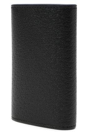Мужская кожаный футляр для ключей GUCCI черного цвета, арт. 435305/DJ20T | Фото 2