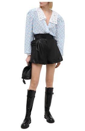 Женские шорты ULYANA SERGEENKO черного цвета, арт. SHS001SS20P 0828т20 | Фото 2