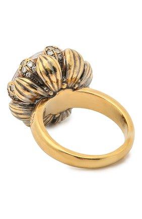 Женское кольцо lotus QUEENSBEE разноцветного цвета, арт. 102314/13,66 | Фото 2