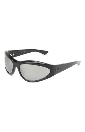 Женские солнцезащитные очки BOTTEGA VENETA черного цвета, арт. BV1077S | Фото 1