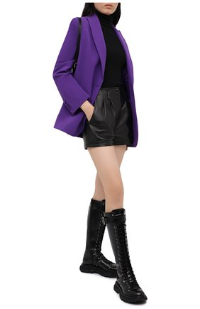Женский жакет OFF-WHITE фиолетового цвета, арт. 0WEF032E20FAB0013500 | Фото 2