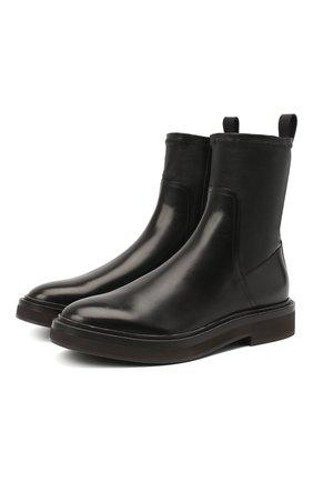 Женские кожаные ботинки 1926 BRUNELLO CUCINELLI черного цвета, арт. MZPRG1926 | Фото 1