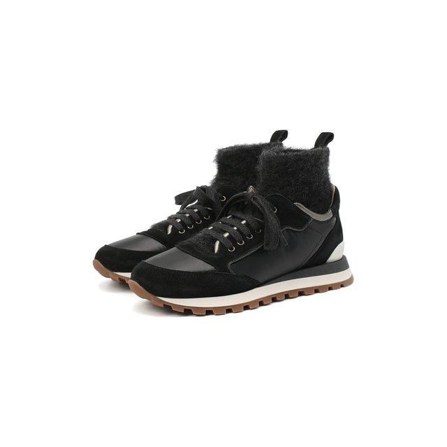 Кожаные кроссовки 1903 Brunello Cucinelli