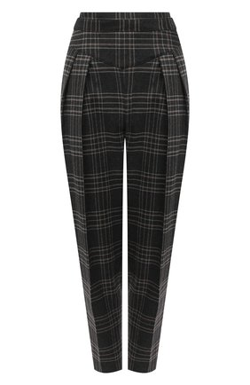 Женские брюки REDVALENTINO серого цвета, арт. UR0RBD20/5DF | Фото 1