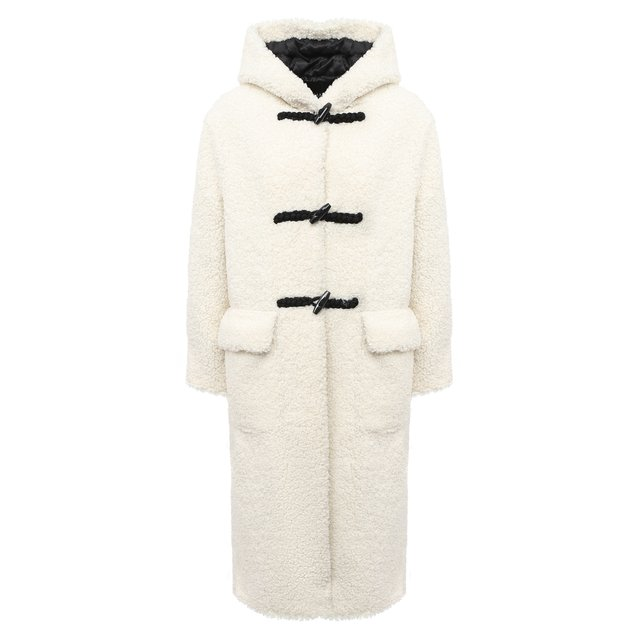 Пальто из экомеха Ermanno Ermanno Scervino