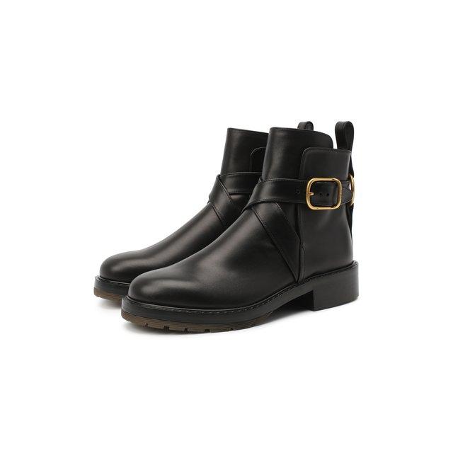 Кожаные ботинки Diane Chloé Chloe