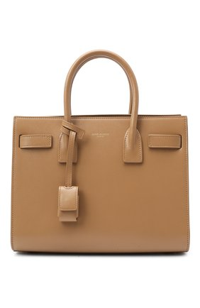 Женская сумка sac de jour baby SAINT LAURENT светло-бежевого цвета, арт. 421863/02G9W | Фото 1