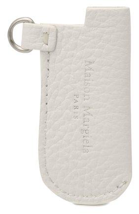 Женские кожаный чехол для зажигалки MAISON MARGIELA белого цвета, арт. S35VT0074/P2686 | Фото 1