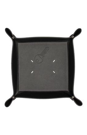 Мужского мелочница MAISON MARGIELA черного цвета, арт. S35VT0075/P2686   Фото 1