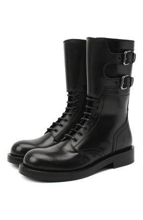 Женские ботинки bernini DOLCE & GABBANA черного цвета, арт. CT0710/AC801 | Фото 1
