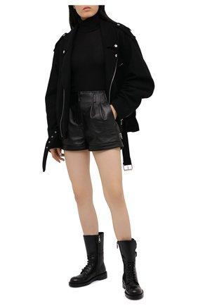 Женские ботинки bernini DOLCE & GABBANA черного цвета, арт. CT0710/AC801 | Фото 2