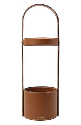 Мужского подставка для зонтов RALPH LAUREN коричневого цвета, арт. 682662667001 | Фото 1