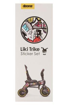 Детского набор наклеек на велосипед SIMPLE PARENTING черного цвета, арт. SP555-99-021-000 | Фото 1