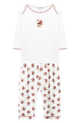Детский комплект из лонгслива и брюк MAGNOLIA BABY красного цвета, арт. 101-775P-RD | Фото 1