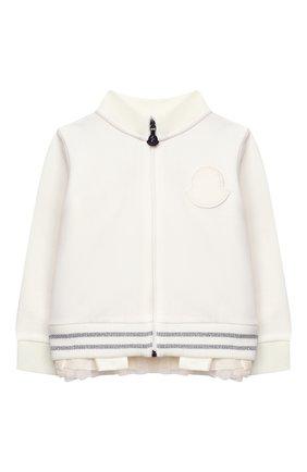 Детский комплект из толстовки и брюк MONCLER белого цвета, арт. F2-951-8M727-10-809EH | Фото 2