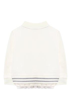 Детский комплект из толстовки и брюк MONCLER белого цвета, арт. F2-951-8M727-10-809EH | Фото 3