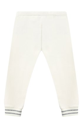 Детский комплект из толстовки и брюк MONCLER белого цвета, арт. F2-951-8M727-10-809EH | Фото 4