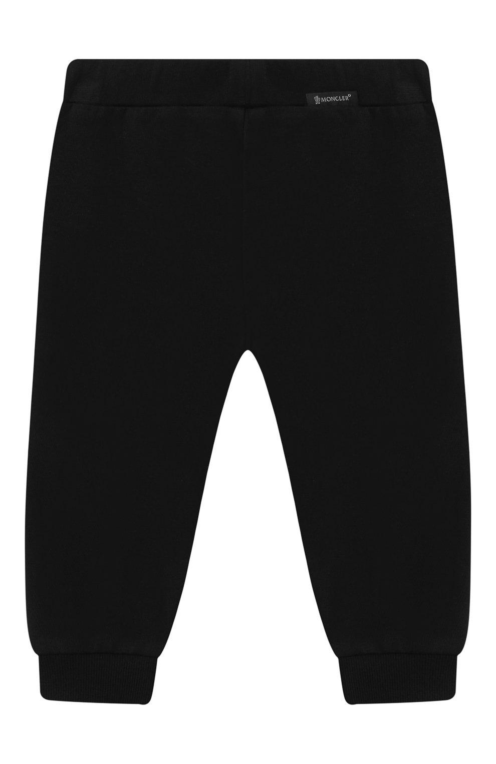 Детский комплект из толстовки и брюк MONCLER белого цвета, арт. F2-951-8M730-20-80996 | Фото 5