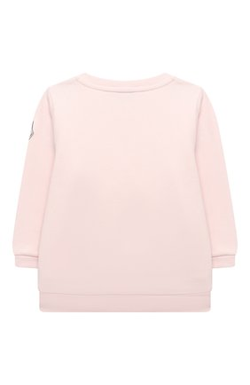 Детский комплект из свитшота и брюк MONCLER светло-розового цвета, арт. F2-951-8M734-10-809EH | Фото 3
