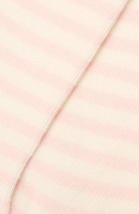 Детские хлопковые колготки FALKE розового цвета, арт. 13840. | Фото 2