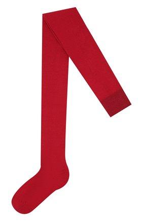 Детские утепленные колготки FALKE бордового цвета, арт. 13488 | Фото 1