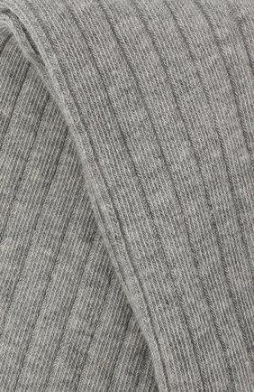 Детские хлопковые колготки FALKE серого цвета, арт. 13642 | Фото 2