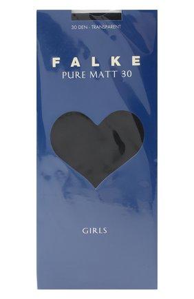 Детские колготки pure matt 30 FALKE синего цвета, арт. 13630 | Фото 1