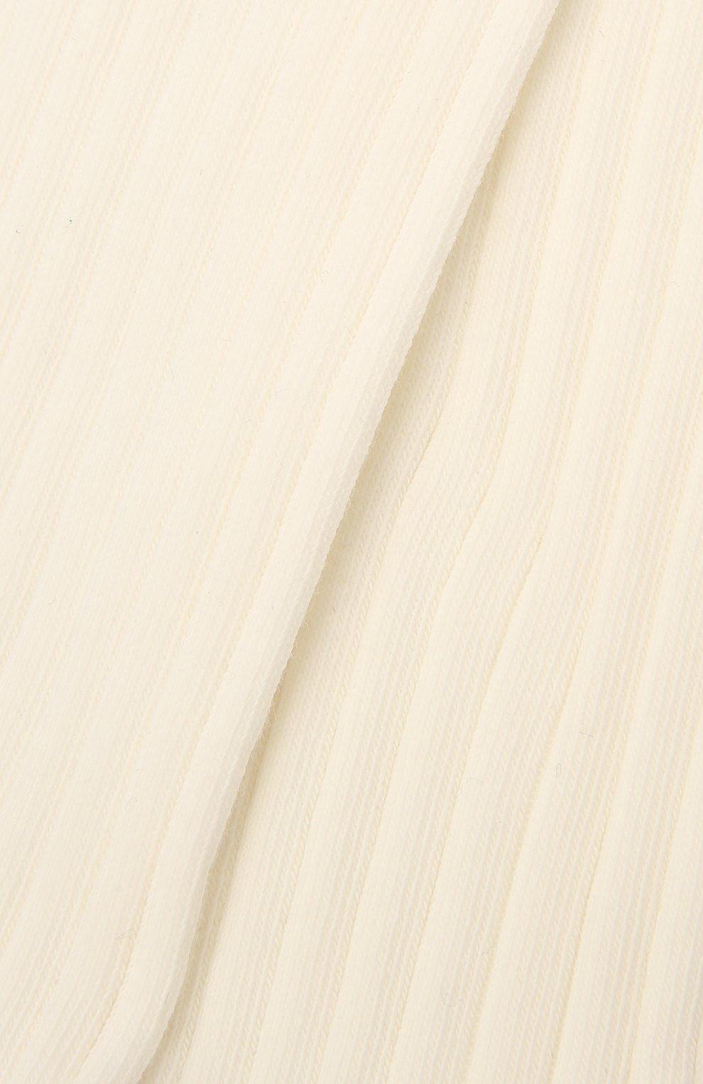 Детские хлопковые колготки FALKE белого цвета, арт. 13642 | Фото 2