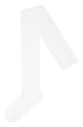 Детские колготки из хлопка FALKE белого цвета, арт. 13645 | Фото 1