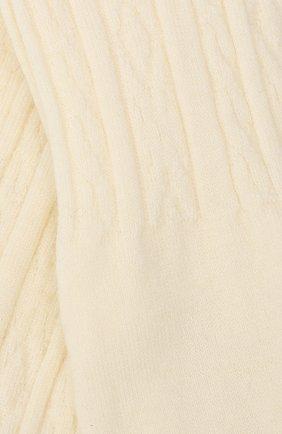 Детские шерстяные колготки FALKE бежевого цвета, арт. 13520 | Фото 2