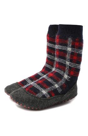 Детские шерстяные носки FALKE красного цвета, арт. 12922. | Фото 1
