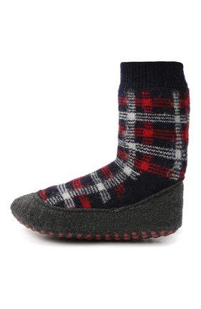 Детские шерстяные носки FALKE красного цвета, арт. 12922. | Фото 2