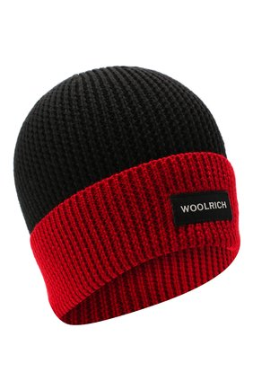 Детского шапка WOOLRICH красного цвета, арт. CFWKAC0067MR/UF0532 | Фото 1