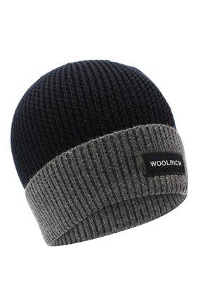 Детского шапка WOOLRICH серого цвета, арт. CFWKAC0067MR/UF0532 | Фото 1