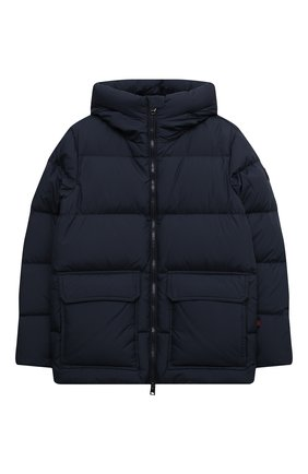 Детский пуховая куртка WOOLRICH темно-синего цвета, арт. CFWK0U0130MR/UT2420 | Фото 1