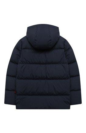 Детский пуховая куртка WOOLRICH темно-синего цвета, арт. CFWK0U0130MR/UT2420 | Фото 2
