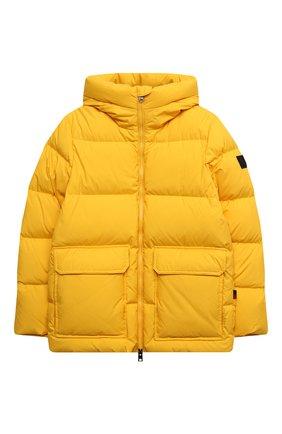 Детский пуховая куртка WOOLRICH желтого цвета, арт. CFWK0U0130MR/UT2420 | Фото 1