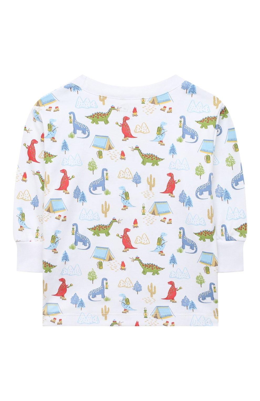 Детский хлопковая пижама KISSY KISSY разноцветного цвета, арт. KB604619I | Фото 3