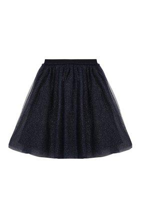 Детская юбка IL GUFO синего цвета, арт. A20GN151H4001/2A-4A | Фото 2