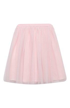 Детская юбка IL GUFO розового цвета, арт. A20GN151H4001/5A-8A | Фото 1