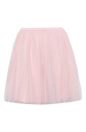 Детская юбка IL GUFO розового цвета, арт. A20GN151H4001/5A-8A | Фото 2