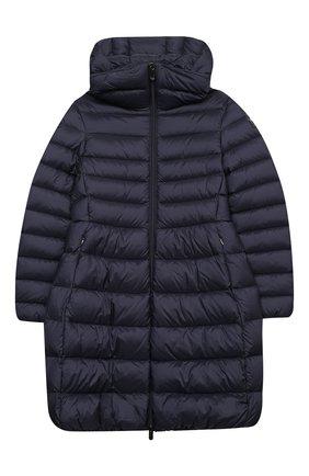 Детское пуховое пальто IL GUFO темно-синего цвета, арт. A20GP108N0068/5A-8A | Фото 1