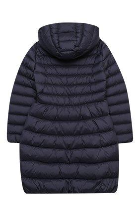 Детское пуховое пальто IL GUFO темно-синего цвета, арт. A20GP108N0068/5A-8A | Фото 2