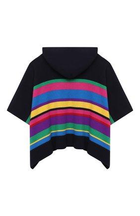 Детское шерстяное пончо POLO RALPH LAUREN разноцветного цвета, арт. 313799875 | Фото 2