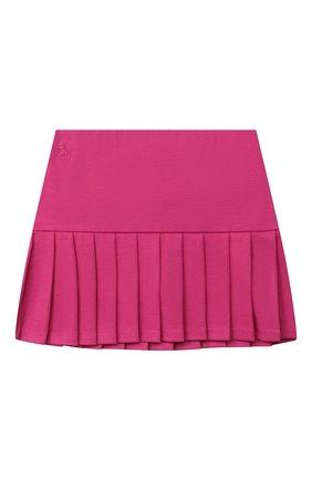 Детская юбка POLO RALPH LAUREN фуксия цвета, арт. 312798271 | Фото 1