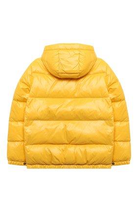 Детский пуховая куртка POLO RALPH LAUREN желтого цвета, арт. 323795538 | Фото 2