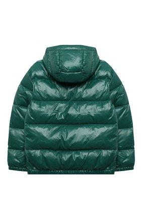 Детский пуховая куртка POLO RALPH LAUREN зеленого цвета, арт. 323795538 | Фото 2