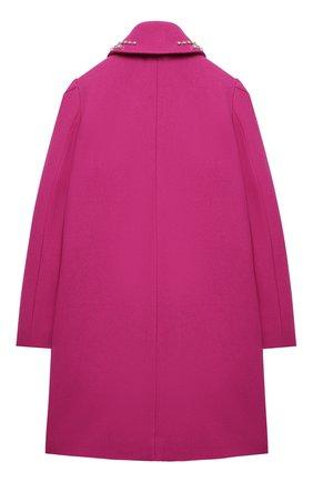 Детское двубортное пальто N21 фуксия цвета, арт. N214C1/N0084/N21J28F | Фото 2