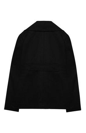 Детское пальто N21 черного цвета, арт. N214BW/N0082/N21J23F | Фото 2